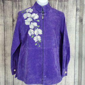 Bob Mackie Wearable Art Women's Sz XS Violet